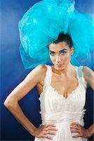 Portrait of Woman    Stock Photo - Premium Royalty-Freenull, Code: 600-02200219