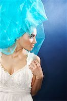 Portrait of Woman    Stock Photo - Premium Royalty-Freenull, Code: 600-02200222