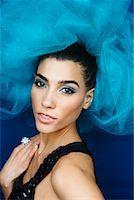 Portrait of Woman    Stock Photo - Premium Royalty-Freenull, Code: 600-02200228
