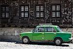 Lada Car, Koprivshtitsa, Sofia Province, Bulgaria    Stock Photo - Premium Rights-Managed, Artist: Siephoto, Code: 700-02200730