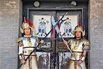 Chinese Men in Traditional Costume, Jiayuguan Fortress, The Great Wall, China    Stock Photo - Premium Rights-Managed, Artist: F. Lukasseck, Code: 700-02200838