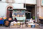 Egg Vendor at Side of Road, Kashgar, Xinjiang Province, China    Stock Photo - Premium Rights-Managed, Artist: F. Lukasseck, Code: 700-02200879