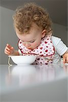 Baby Eating Spaghetti    Stock Photo - Premium Rights-Managednull, Code: 700-02216106