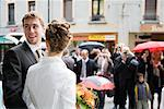 Newlyweds at Wedding, Chamonix, Haute-Savoie, France Stock Photo - Premium Rights-Managed, Artist: Patrick Chatelain, Code: 700-02216116