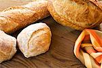 Bread on Table    Stock Photo - Premium Royalty-Free, Artist: David Papazian, Code: 600-02222907