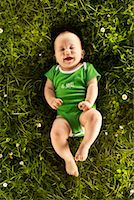 Portrait of Baby Lying on Grass Stock Photo - Premium Rights-Managednull, Code: 700-02231854