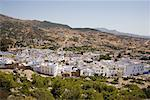 Overview of City, Chefchaouen, Morocco    Stock Photo - Premium Rights-Managed, Artist: Siephoto, Code: 700-02245104