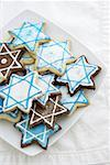 Star of David cookies Stock Photo - Premium Royalty-Free, Artist: Robert Harding Images, Code: 621-02247227