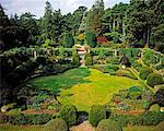 Sunken Garden, Mount Stewart, Ards Peninsula, Co Down, Ireland    Stock Photo - Premium Rights-Managed, Artist: IIC, Code: 832-02252565
