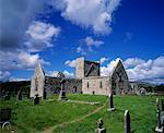 Burrishoole Friary, Co Mayo, Ireland    Stock Photo - Premium Rights-Managed, Artist: IIC, Code: 832-02252756