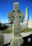 Muiredach's High Cross, Monasterboice, County Louth, 10th Century Celtic high cross    Stock Photo - Premium Rights-Managed, Artist: IIC, Code: 832-02252775