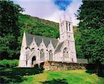 Kylemore Abbey's Chapel, Co Galway, Ireland    Stock Photo - Premium Rights-Managed, Artist: IIC, Code: 832-02253129