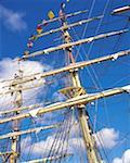 Sailing, Tall Ships Mast    Stock Photo - Premium Rights-Managed, Artist: IIC, Code: 832-02253135