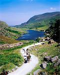 Ring of Kerry, Lakes of Killarney Gap of Dunloe    Stock Photo - Premium Rights-Managed, Artist: IIC, Code: 832-02253141