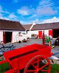 Traditional Thatched Cottage, Near Letterkenny, Co Donegal    Stock Photo - Premium Rights-Managed, Artist: IIC, Code: 832-02254417