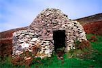 Celtic Archaeology, Beehive Hut at Fahan, Dingle Penninsula Co Kerry    Stock Photo - Premium Rights-Managed, Artist: IIC, Code: 832-02254453