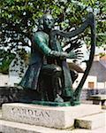Co Leitrim, Carolan Statue, Mohill