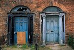 Derelict Georgian buildings, Dublin, Ireland    Stock Photo - Premium Rights-Managed, Artist: IIC, Code: 832-02254746