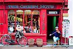 Traditional Music Shop, Kenmare, Co Kerry, Ireland    Stock Photo - Premium Rights-Managed, Artist: IIC, Code: 832-02254799