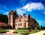 Low angle view of a castle, Belfast Castle, Belfast, County Antrim, Northern Ireland    Stock Photo - Premium Rights-Managed, Artist: IIC, Code: 832-02254819