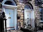 Georgian Doorways, Merrion Square Dublin, Ireland    Stock Photo - Premium Rights-Managed, Artist: IIC, Code: 832-02254930