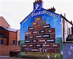 Peace mural, Belfast, Ireland    Stock Photo - Premium Rights-Managed, Artist: IIC, Code: 832-02255012
