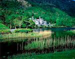 Kylemore Abbey, Co Galway, Ireland    Stock Photo - Premium Rights-Managed, Artist: IIC, Code: 832-02255037