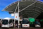 Cork City, County Cork, Ireland; Bus station    Stock Photo - Premium Rights-Managed, Artist: IIC, Code: 832-02255531