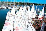 Kinsale, County Cork, Ireland; Sailing school    Stock Photo - Premium Rights-Managed, Artist: IIC, Code: 832-02255544