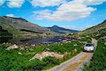 Black Valley, Killarney, County Kerry, Ireland; Car on rural road    Stock Photo - Premium Rights-Managed, Artist: IIC, Code: 832-02255555