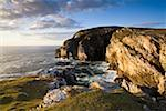 Dunfanaghy, County Donegal, Ireland; Coastal sea stack and seascape    Stock Photo - Premium Rights-Managed, Artist: IIC, Code: 832-02255631