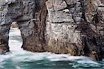 Dunfanaghy, County Donegal, Ireland; Coastal sea stack with arch    Stock Photo - Premium Rights-Managed, Artist: IIC, Code: 832-02255643
