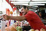 A market vendor Stock Photo - Premium Royalty-Free, Artist: photo division, Code: 653-02260657