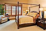 Bedroom Interior    Stock Photo - Premium Rights-Managed, Artist: David Papazian, Code: 700-02264209