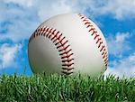 Close-up of Baseball    Stock Photo - Premium Rights-Managed, Artist: Marc Simon, Code: 700-02264959