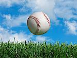 Close-up of Baseball    Stock Photo - Premium Rights-Managed, Artist: Marc Simon, Code: 700-02264960