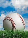 Close-up of Baseball    Stock Photo - Premium Rights-Managed, Artist: Marc Simon, Code: 700-02264961
