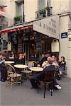 Cafe in Montmartre, Paris, France