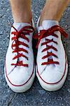 Close-up of Man's Shoes    Stock Photo - Premium Rights-Managed, Artist: Sara Lynne Harper, Code: 700-02265251