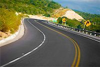 Road passing through mountains, San Luis Potosi, Mexico Stock Photo - Premium Royalty-Freenull, Code: 625-02268069