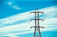 Electrical pylons Stock Photo - Premium Royalty-Freenull, Code: 621-02279046