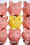 Stack of Piggy Banks    Stock Photo - Premium Rights-Managed, Artist: Leonardo, Code: 700-02289292