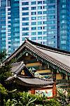 Bongeunsa Temple, Seoul, South Korea    Stock Photo - Premium Rights-Managed, Artist: R. Ian Lloyd, Code: 700-02289581