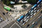 Overview of Intersection, Jongo, Seoul, South Korea    Stock Photo - Premium Rights-Managed, Artist: R. Ian Lloyd, Code: 700-02289590