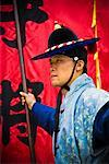 Palace Guard, Deoksugung, Seoul, South Korea    Stock Photo - Premium Rights-Managed, Artist: R. Ian Lloyd, Code: 700-02289636