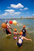 Swimming Contest in Han River, Seoul, South Korea    Stock Photo - Premium Rights-Managednull, Code: 700-02289640