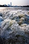 White Water on Han River, Seoul, South Korea    Stock Photo - Premium Rights-Managed, Artist: R. Ian Lloyd, Code: 700-02289647