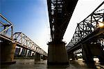 Bridges over Han River, Seoul, South Korea    Stock Photo - Premium Rights-Managed, Artist: R. Ian Lloyd, Code: 700-02289648