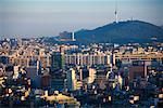 Overview of City, Seoul, South Korea    Stock Photo - Premium Rights-Managed, Artist: R. Ian Lloyd, Code: 700-02289649