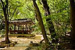 Gazebo in Garden of Changdeokgung, Seoul, South Korea    Stock Photo - Premium Rights-Managed, Artist: R. Ian Lloyd, Code: 700-02289680